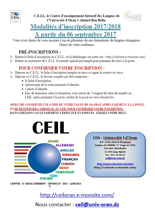 Informations ceil